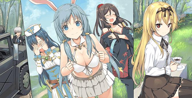 Arifureta Characters Main