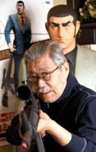 Takao Saito golgo 13 foto in studio